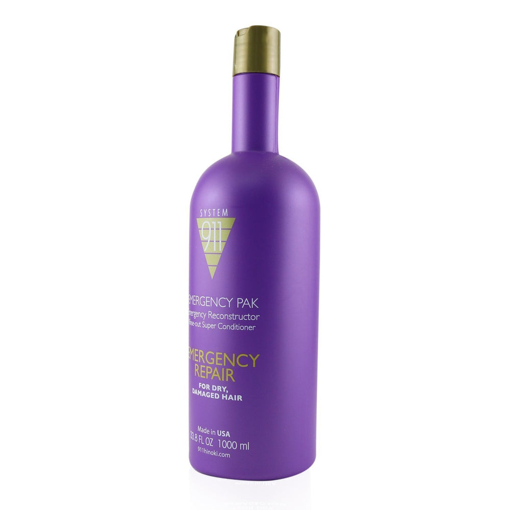 911 Emergency Pak Emergency Reconstructor Rinse Out Super Conditioner (For Dry, Damaged Hair) 243353
