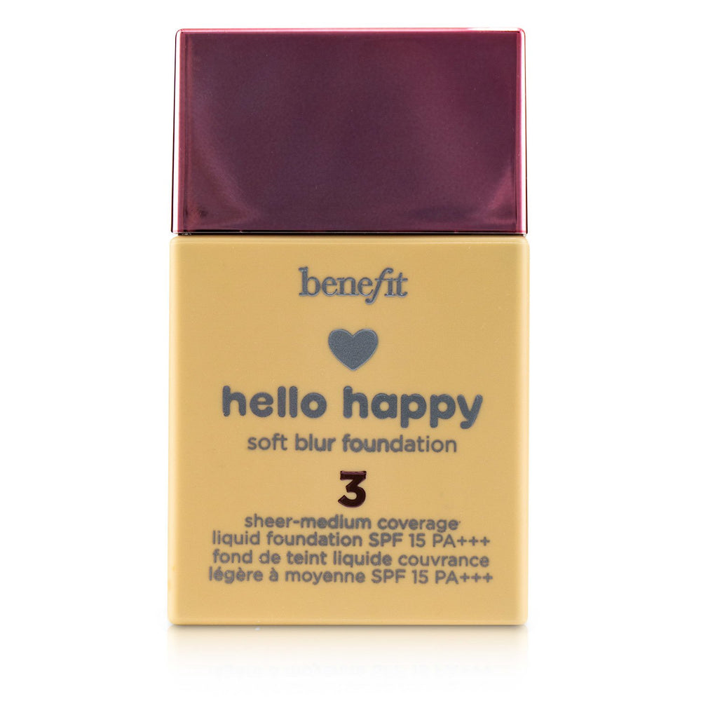 Hello Happy Soft Blur Liquid Foundation Spf 15 # 3 (Light Neutral) 243791