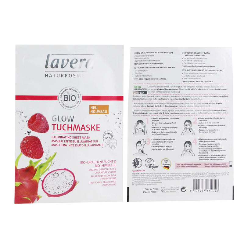 Sheet Mask Illuminating (With Organic Dragon Fruit & Organic Raspberry) 244070
