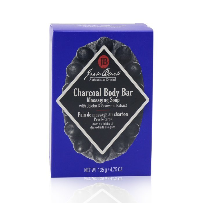 Load image into Gallery viewer, Charcoal Body Bar Massaging Soap
