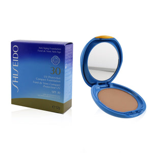 Uv Protective Compact Foundation Spf 30 (Case+Refill) # Light Beige