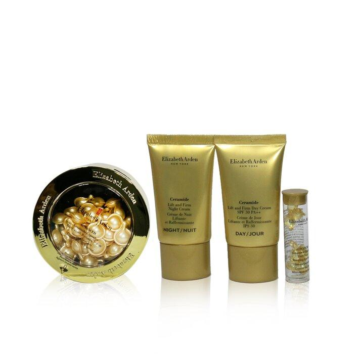 Load image into Gallery viewer, Ceramide Lift & Firm Youth Restoring Set: Advanced Ceramide Capsules 60caps+ Day Cream Spf30 15ml+ Night Cream 15ml+ Eye ....