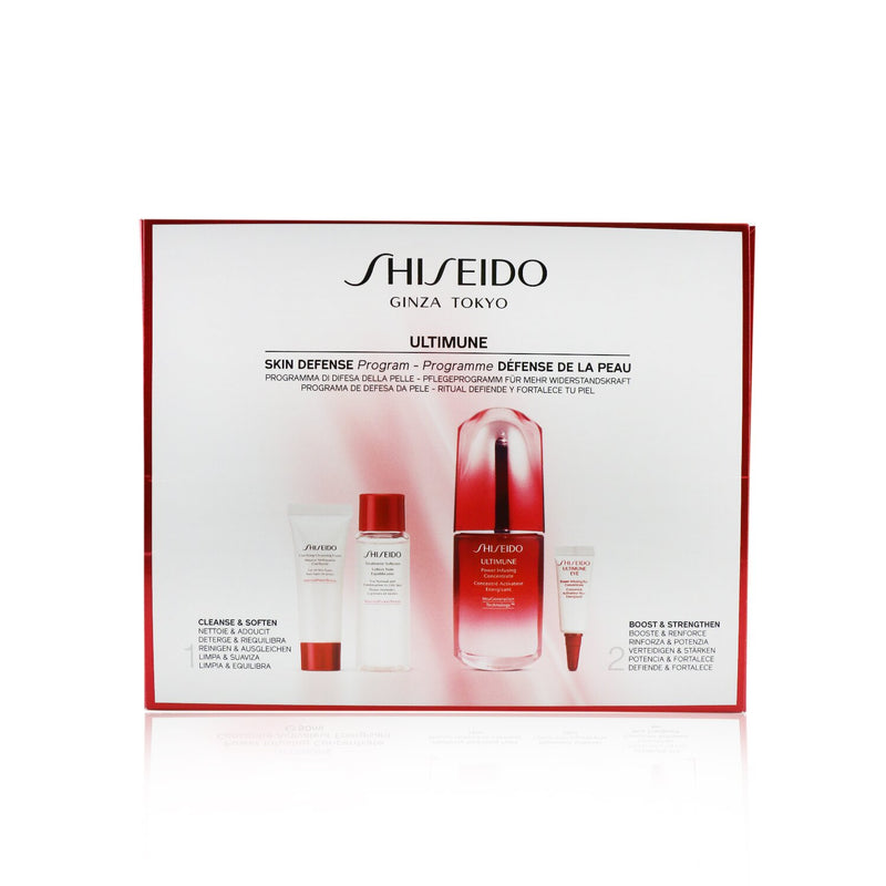 Skin Defense Program Set: Ultimune Power Infusing Concentrate 50ml + Cleansing Foam 15ml + Softener 30ml + Eye Concentrate 3ml 246225