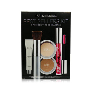 Best Sellers Kit (5 Piece Beauty To Go Collection) (1x Primer, 1x Powder, 1x Bronzer, 1x Mascara, 1x Brush) # Blush Medium 246518