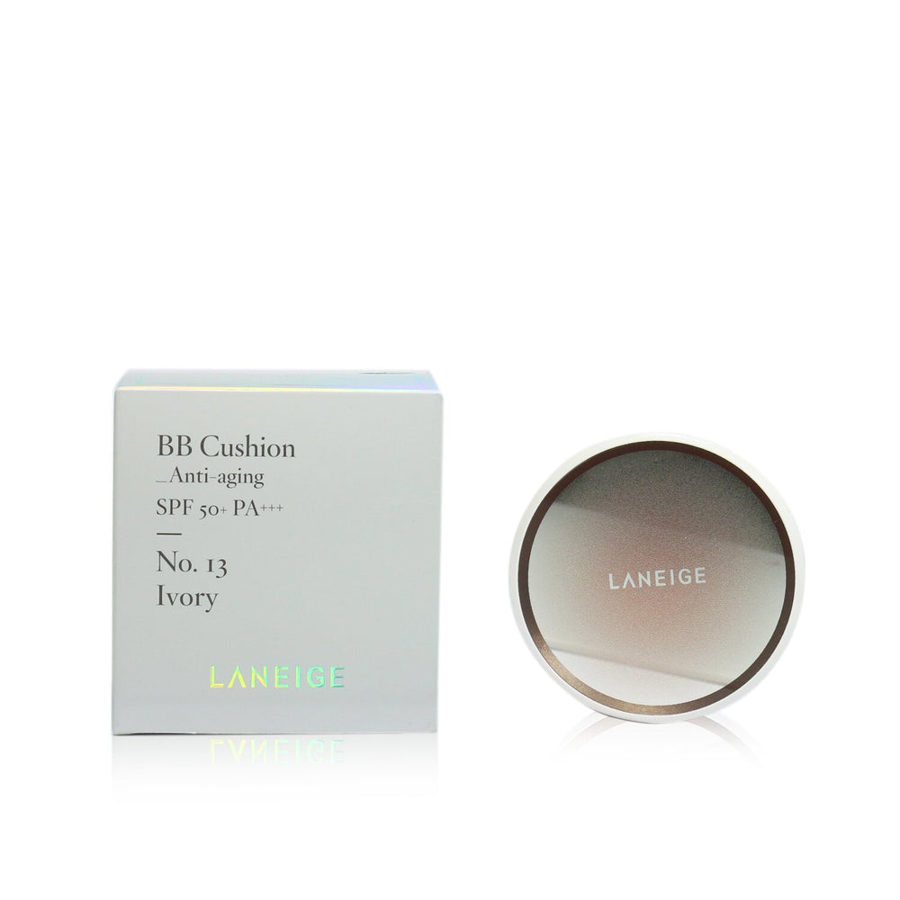 Bb Cushion Foundation (Anti Aging) Spf 50 With Extra Refill   # No. 13 Ivory