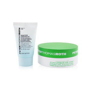 Drench & De Tox 2 Piece Kit: Hydrating Moisturizer 20ml + Cucumber Eye Patches 15pairs 246706