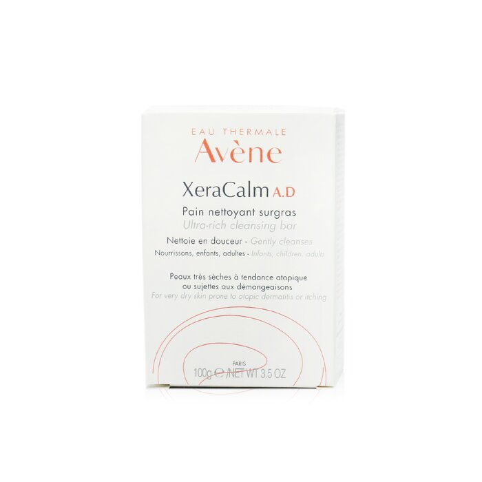 Xera Calm A.D Ultra Rich Cleansing Bar For Very Dry Skin Prone To Atopic Dermatitis Or Itching 247095