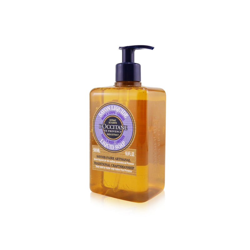 Lavender Liquid Soap For Hands & Body 247825