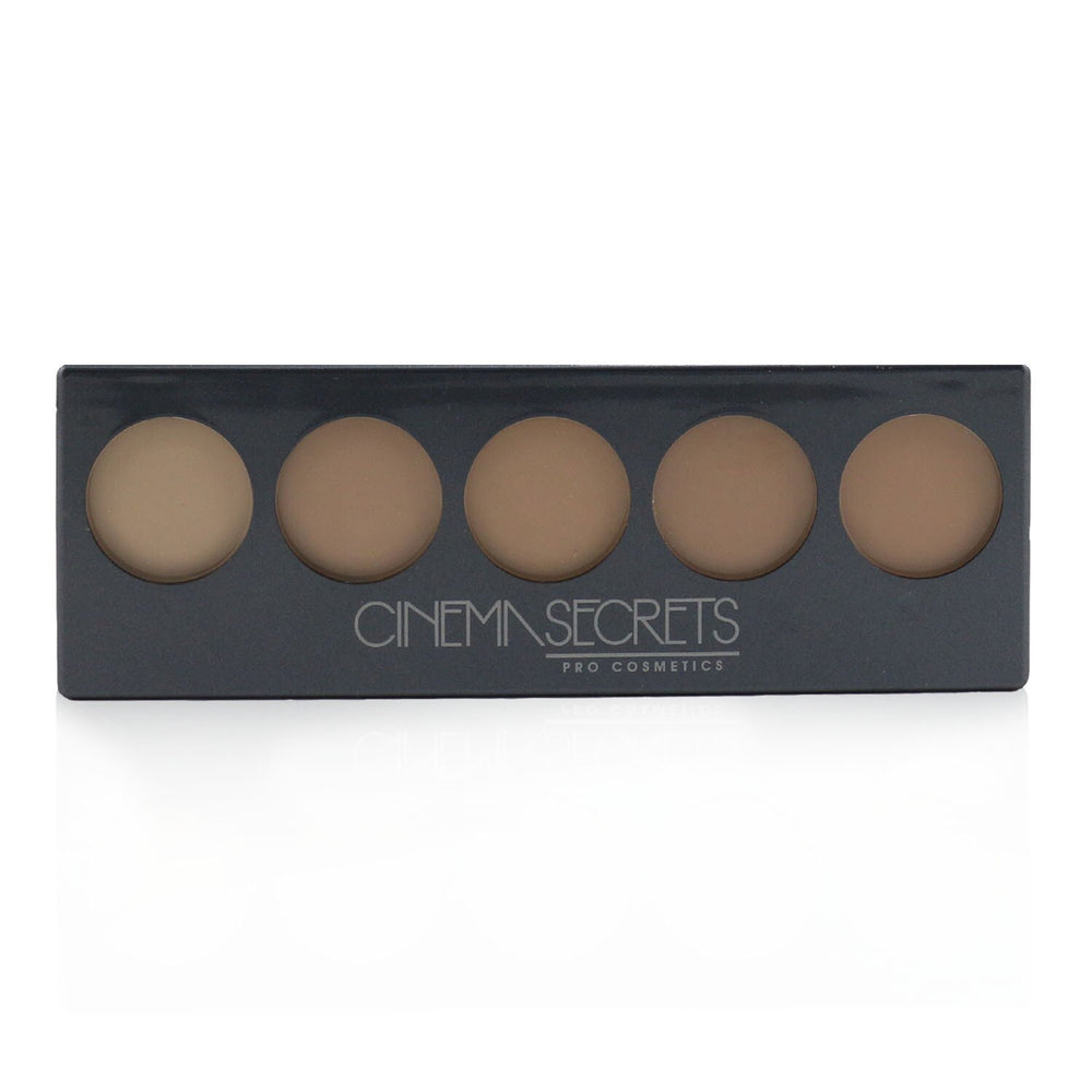 Ultimate Foundation 5 In 1 Pro Palette # 500 A Series (Light To Medium Pink Beige Undertones) 248901