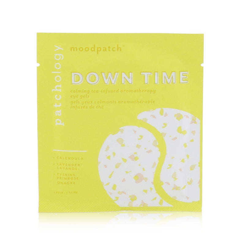 Moodpatch Down Time Calming Tea Infused Aromatherapy Eye Gels (Calendula+Lavender+Evening Primrose) 249139