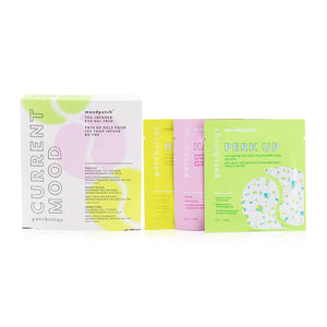 Moodpatch - Current Mood Tea-Infused Eye Gel Trio Set: (Perk Up, Happy Place, Down Time)