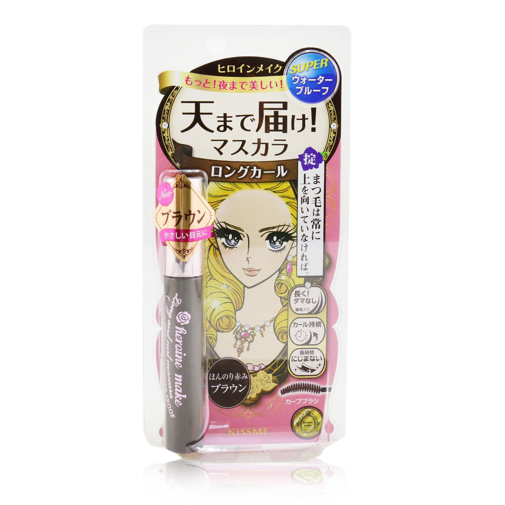 Load image into Gallery viewer, Heroine Make Long And Curl Mascara Super Waterproof   # 02 Brown