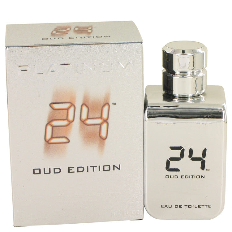 24 Platinum Oud Edition Eau De Toilette Concentree Spray (Unisex) By Scent Story 515798