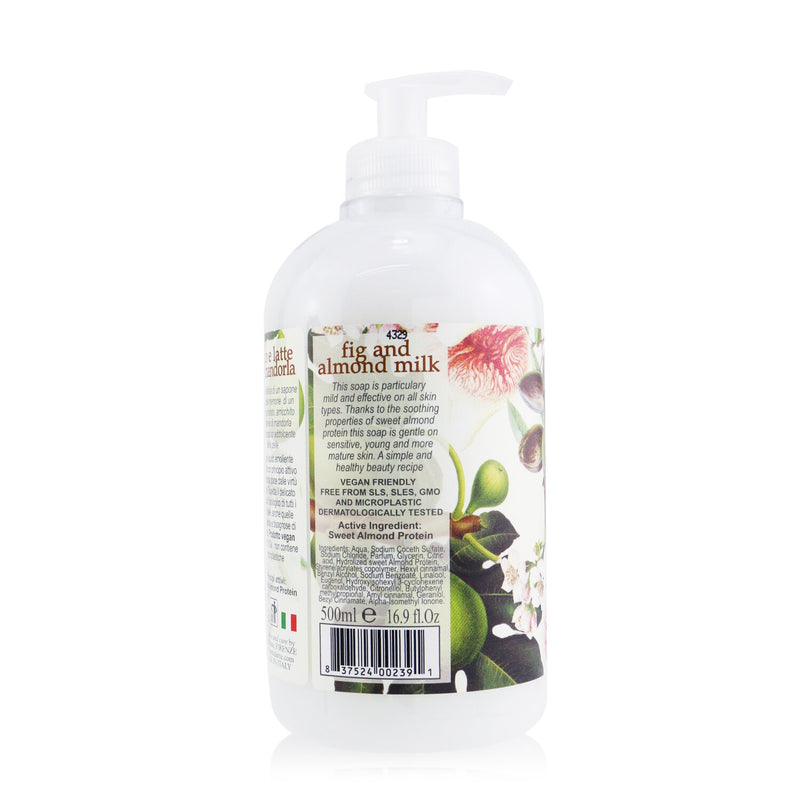 Il Frutteto Soothing Hand & Face Soap With Sweet Almond Fig And Almond Milk 251240
