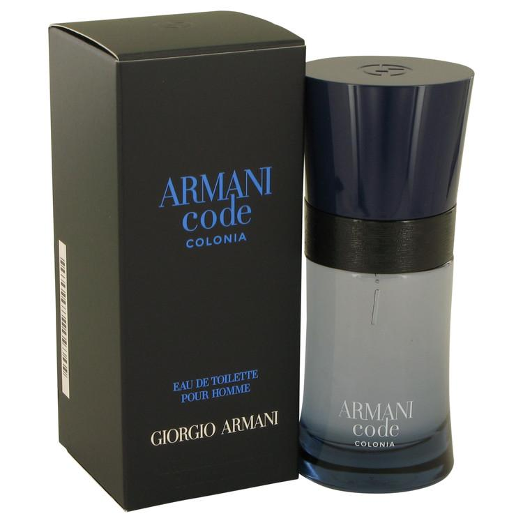Armani Code Colonia Eau De Toilette Spray By Giorgio Armani 539363