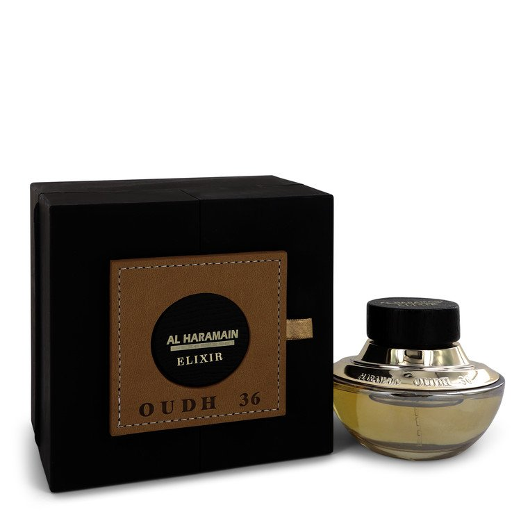 Oudh 36 Elixir Eau De Parfum Spray (Unisex) By Al Haramain 548557