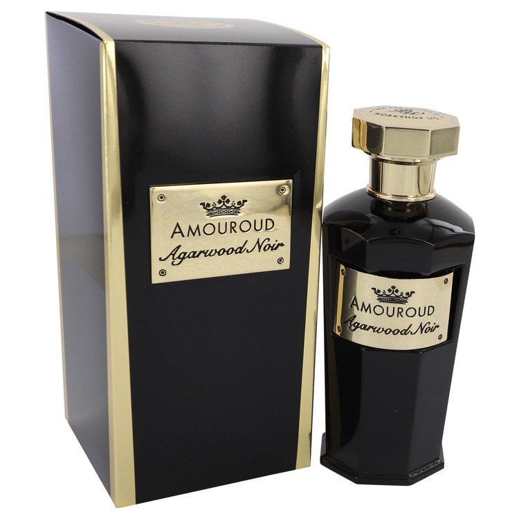 Load image into Gallery viewer, Agarwood Noir Eau De Parfum Spray (Unisex) By Amouroud 541826