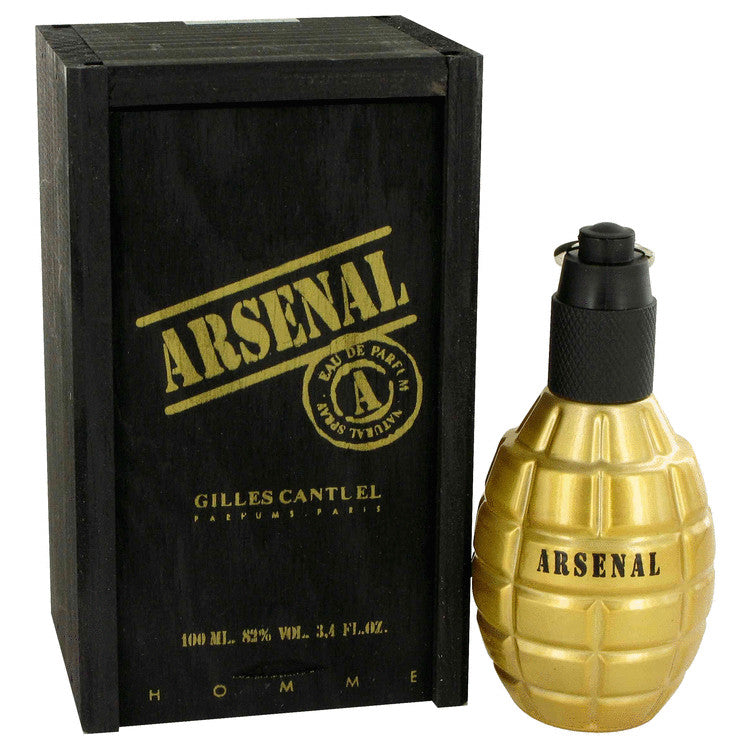 Arsenal Gold Eau De Parfum Spray By Gilles Cantuel 467857