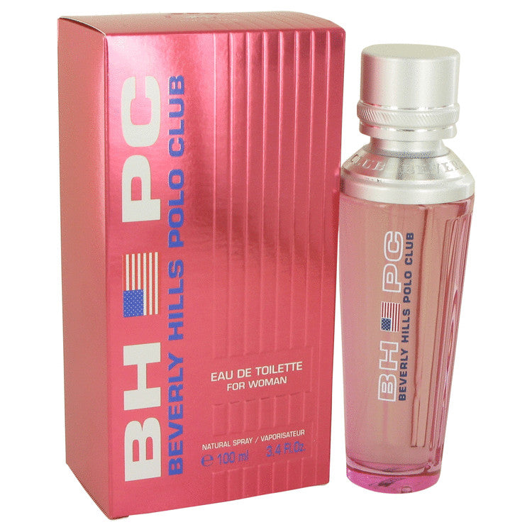 Beverly Hills Polo Club Eau De Toilette Spray By Beverly Fragrances 441204