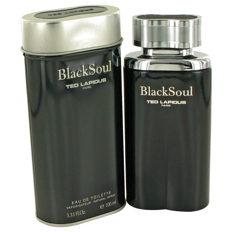 Black Soul Eau De Toilette Spray By Ted Lapidus 480478