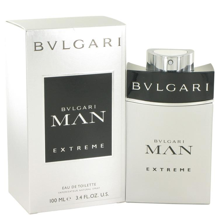 Bvlgari Man Extreme Eau De Toilette Spray By Bvlgari 501033