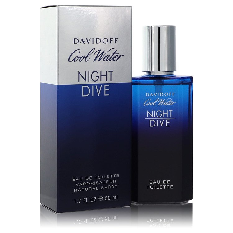 Cool Water Night Dive Eau De Toilette Spray By Davidoff 555347