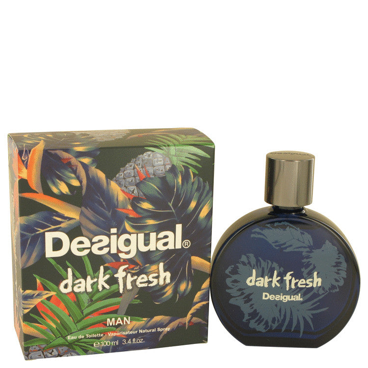 Desigual Dark Fresh Eau De Toilette Spray By Desigual 533926