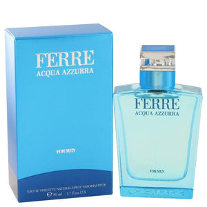 Load image into Gallery viewer, Ferre Acqua Azzurra Eau De Toilette Spray By Gianfranco Ferre 467833