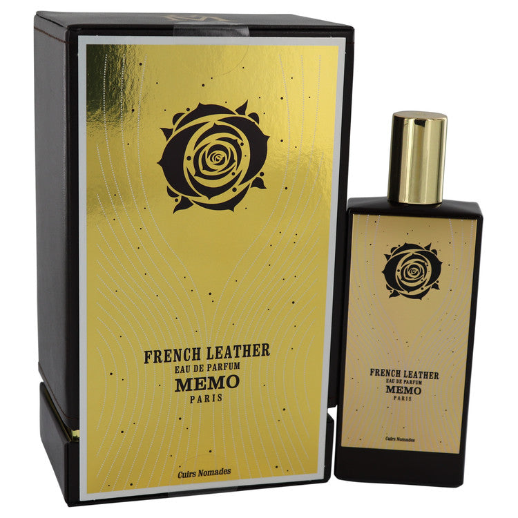 French Leather Eau De Parfum Spray (Unisex) By Memo 541291