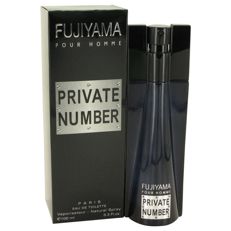Fujiyama Private Number Eau De Toilette Spray By Succes De Paris 496795
