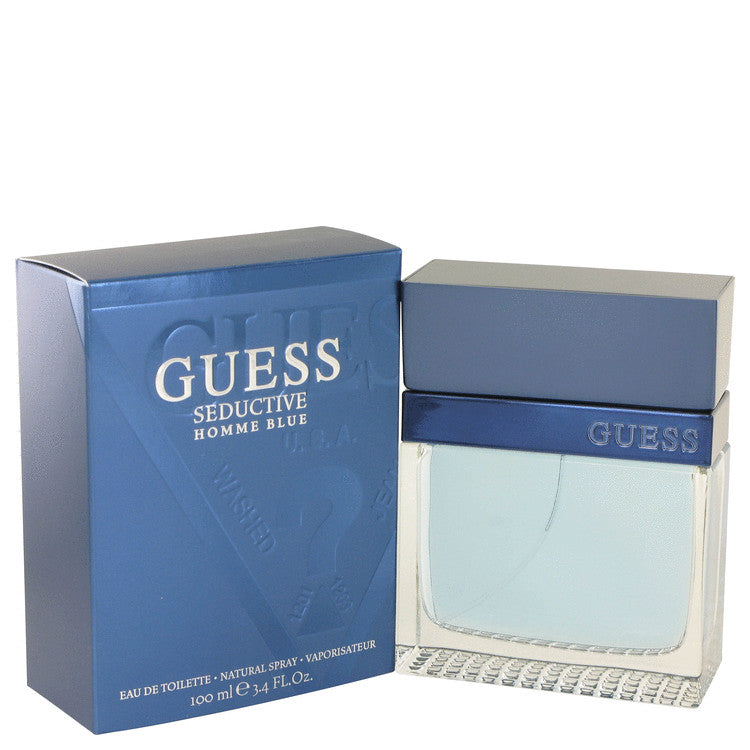 Guess Seductive Homme Blue Eau De Toilette Spray By Guess 500071