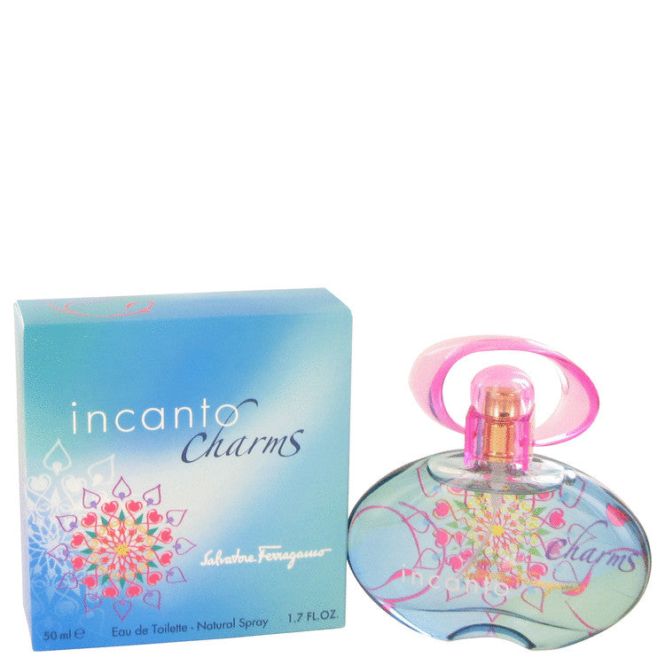 Incanto Charms Eau De Toilette Spray By Salvatore Ferragamo 423527