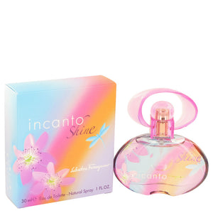 Incanto Shine Eau De Toilette Spray By Salvatore Ferragamo 448734
