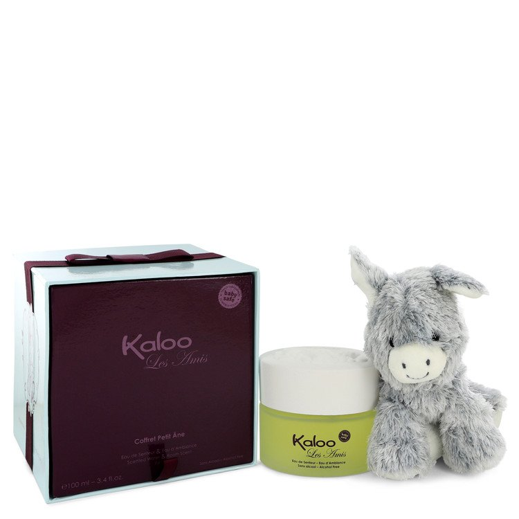 Kaloo Les Amis Eau De Senteur Spray / Room Fragrance Spray (Alcohol Free) + Free Fluffy Donkey By Kaloo 542954