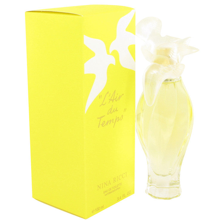 L'air Du Temps Eau De Toilette Spray With Bird Cap By Nina Ricci 418046