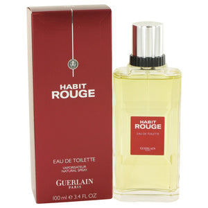 Habit Rouge Cologne / Eau De Toilette Spray By Guerlain 413811