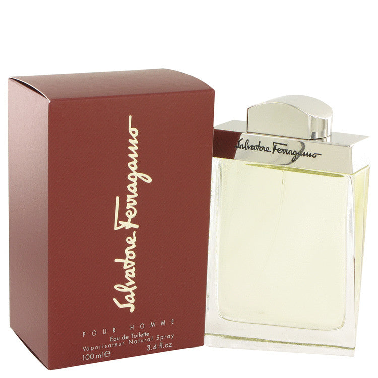 Salvatore Ferragamo Eau De Toilette Spray By Salvatore Ferragamo 401278