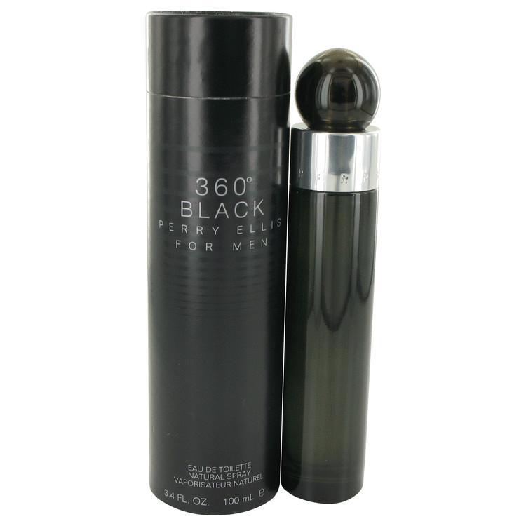 Perry Ellis 360 Black Eau De Toilette Spray By Perry Ellis 425842