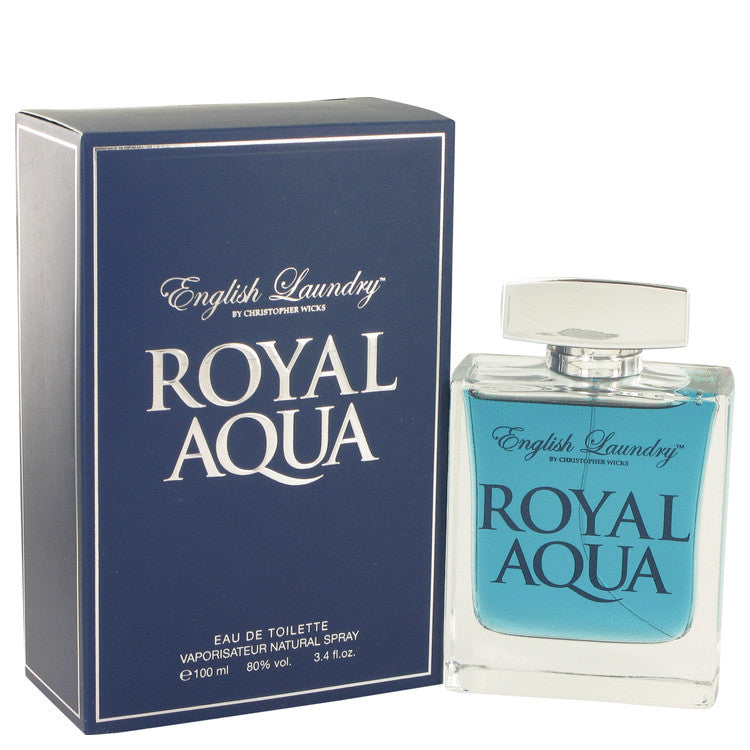 Royal Aqua Eau De Toilette Spray By English Laundry 514672