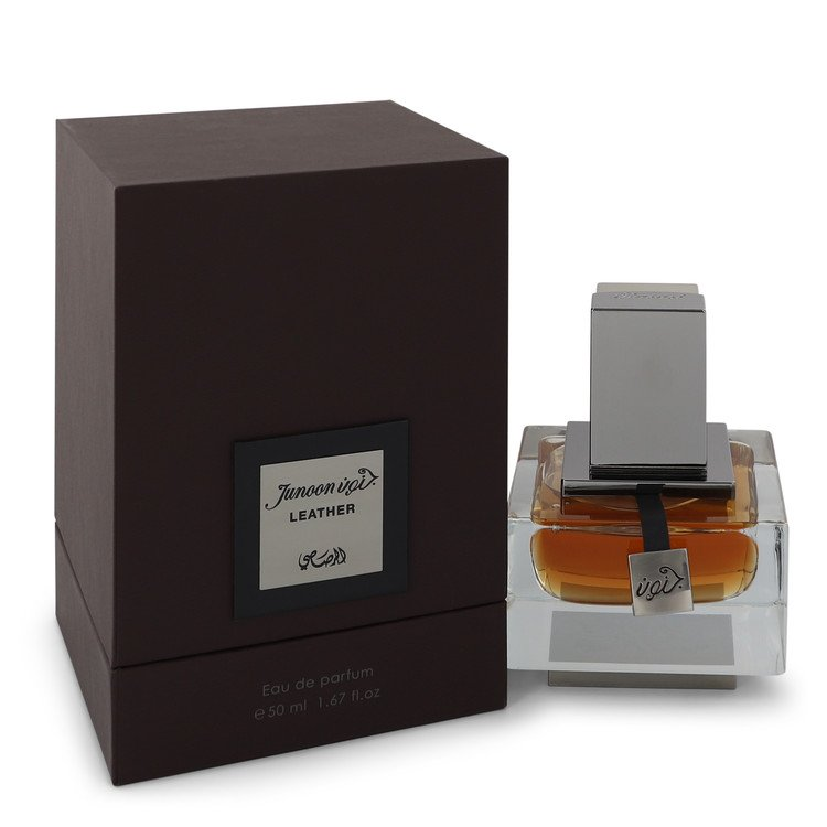 Rasasi Junoon Leather Eau De Parfum Spray By Rasasi 543431