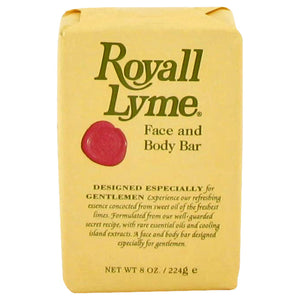 Royall Lyme Face And Body Bar Soap By Royall Fragrances 467382