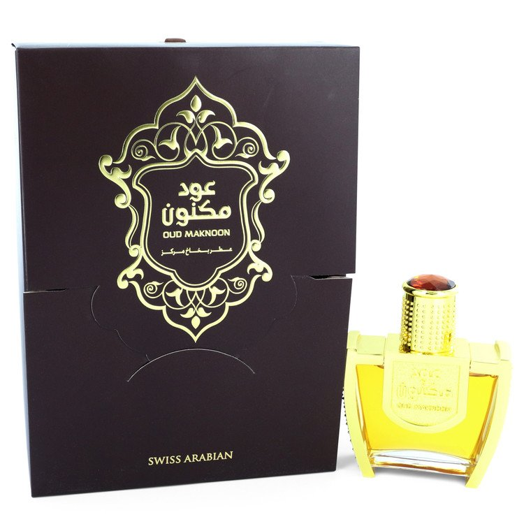 Oud Maknoon Eau De Parfum Spray (Unisex) By Swiss Arabian
