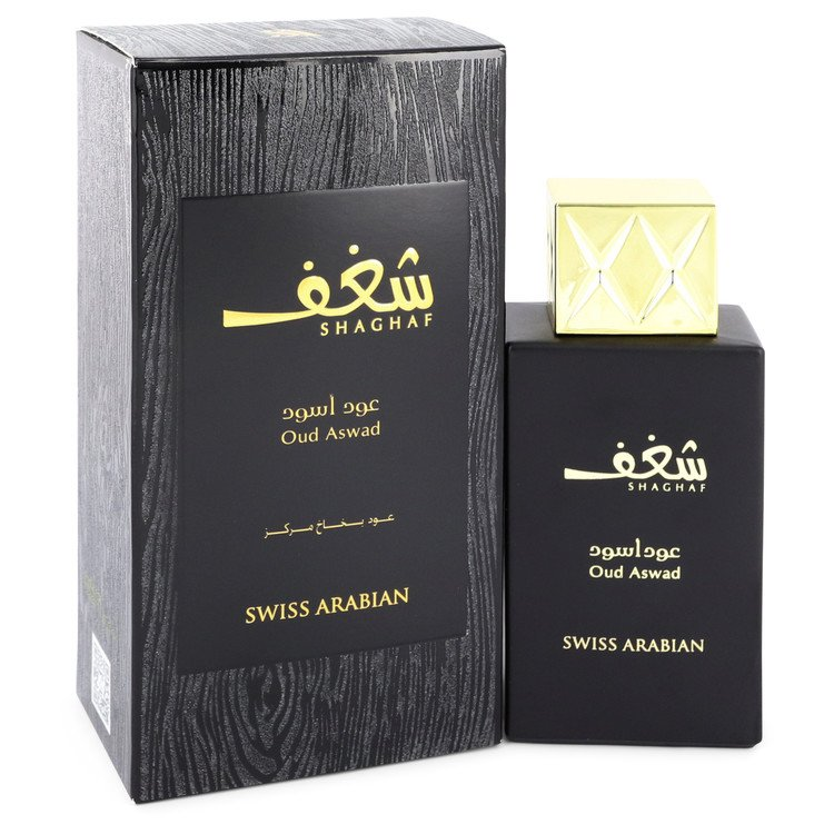 Shaghaf Oud Aswad Eau De Parfum Spray By Swiss Arabian