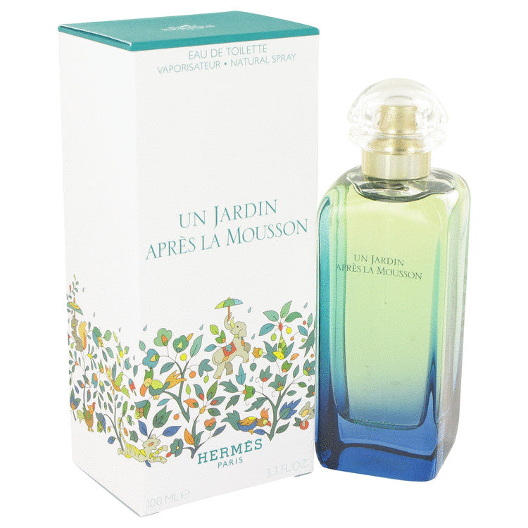 Un Jardin Apres La Mousson Eau De Toilette Spray (Unisex) By Hermes 457277