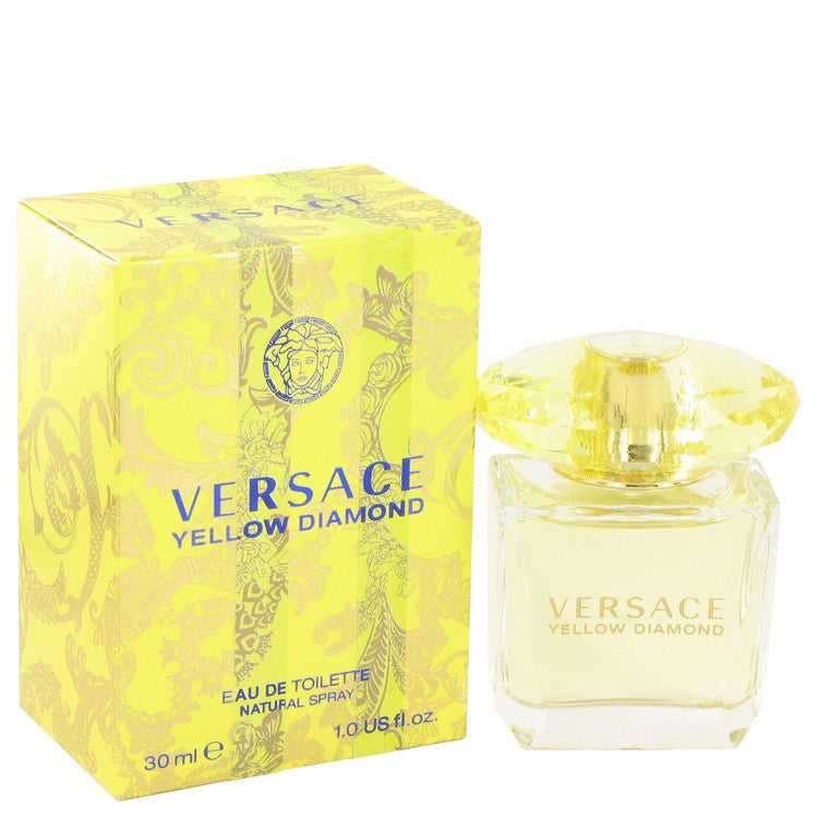 Versace Yellow Diamond Eau De Toilette Spray By Versace 502621
