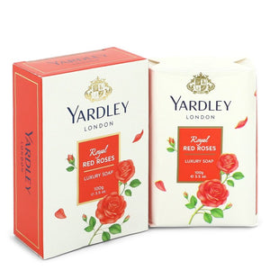 Yardley London Soaps Royal Red Roses Luxury Soap By Yardley London 550757