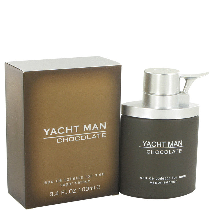 Yacht Man Chocolate Eau De Toilette Spray By Myrurgia 517633