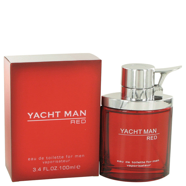 Yacht Man Red Eau De Toilette Spray By Myrurgia 498683