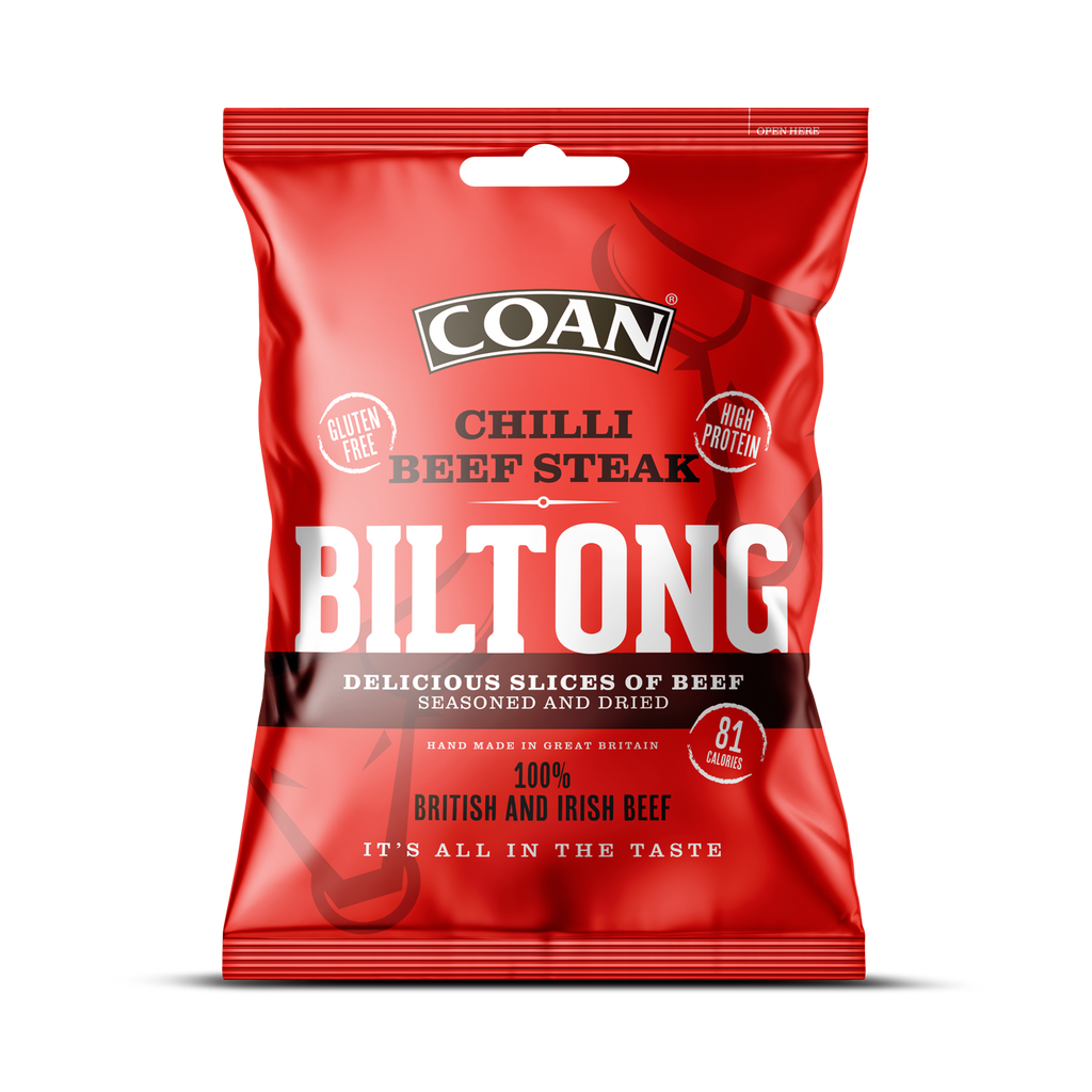 Chilli Beef Steak Biltong
