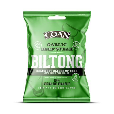 Garlic Beef Steak Biltong